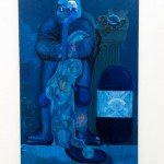 Svěrající kazajka, 2012,  130x200 cm, olej na plátně