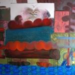 Kláda, 2013, 120x140 cm, olej na plátně