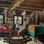Melancholie, 2011, 140x200 cm, akryl na plátně