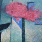 Purpurová duše,2015,olej na plátně 80x100cm