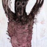 Strašák, 2016, 180cm x 135cm, akryl na plátně